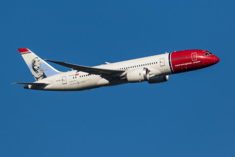 Norwegian Boeing 787-8 Dreamliner