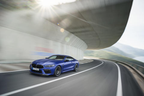 Nye BMW M8 Competition Coupé