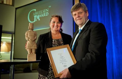 Gabrielsen Award delas ut för andra året i Sverige