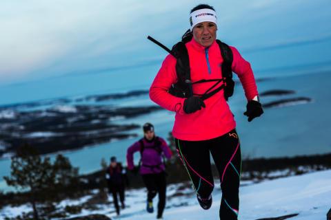 Höga Kusten Winter Trail