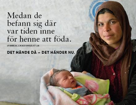 Det hände då och det händer nu - Svenska kyrkans kampanj för stöd till människor på flykt
