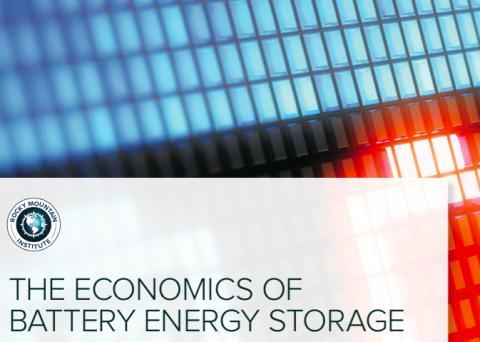 Blogg: Rocky Mountain Institute recenserar batterier som energilager