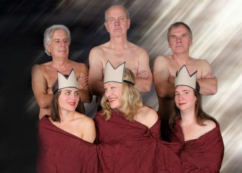 Testamentet med She She Pop, ett av Berlins hetaste teaterkollektiv, bara en kväll - lörd , 9 okt.