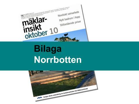 Mäklarsamfundet oktober 2010: Norrbotten