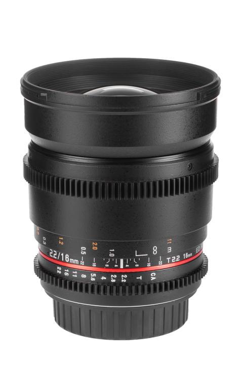 Samyang 16mm T2.2 Canon - 01