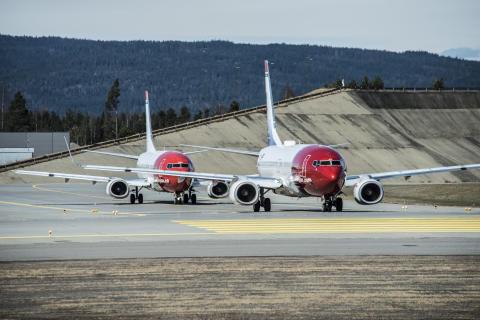 Tietoja Norwegianin lennoista tänään sunnuntaina Suomessa