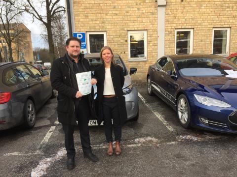 Miljöbästa Bil 2016 - Bästa valet för privatbilisten med normal ekonomi - Andra pris: Renault Zoe