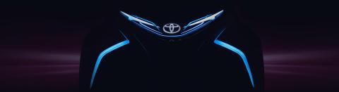 Toyota på Geneve internasjonale bilutstilling 2017