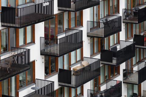 Visning. Dyrvik Arkitekter, Lille Bislett , Oslo, 2006-2007.