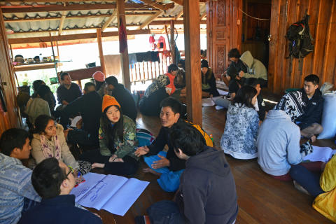 NIST Students Transform Lives in Omgoi, Chiang Mai
