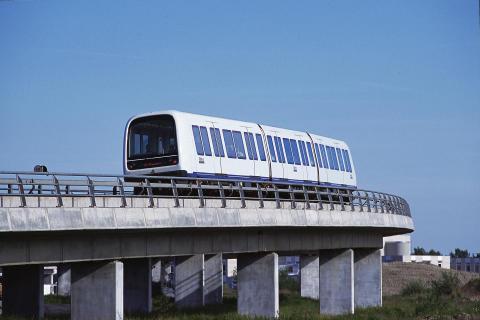 Metrotåg Köpenhamn