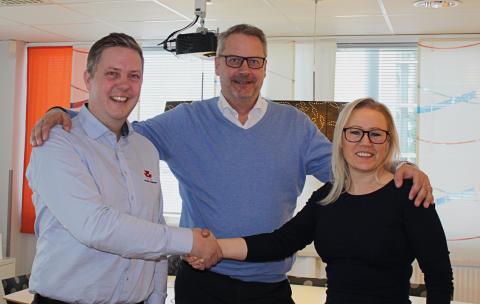 Powered by Kramp shop-in-shop öppnas hos MaskinGruppen i Eslöv