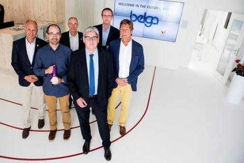 Belga devient partenaire du Team Belgium