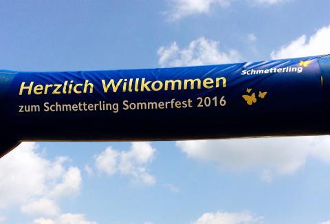 Schmetterling Sommerfest - ein voller Erfolg