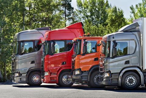 Scania: Zweitstärkste Lkw-Marke in Österreich 2017