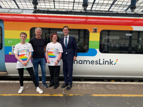 Proud of our Pride train