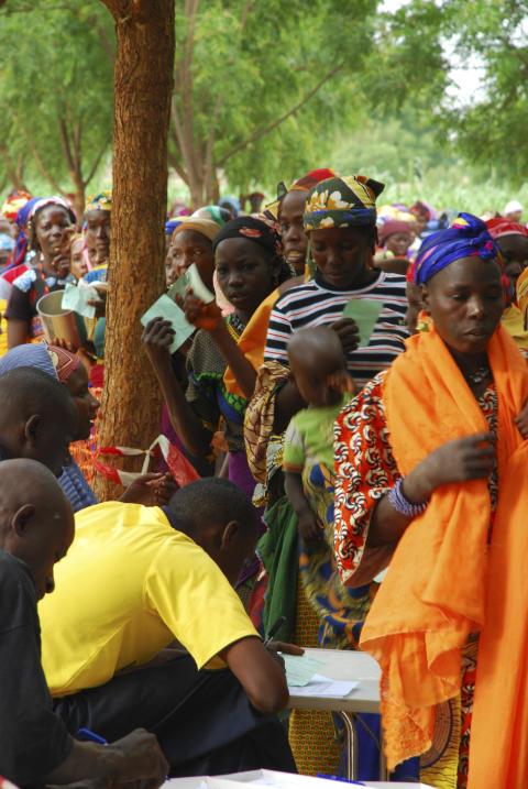 Undernäringskris i Niger