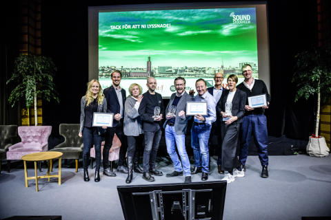Vinnarna i Stockholm Sound Award