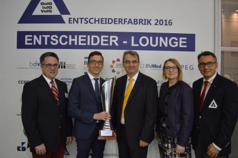 MEDICA-News: Martin Große-Kracht ist Unternehmens-/Klinikführer des Jahres -  melden Sie sich rechtzeitig zum Entscheider-Event 2017 an !