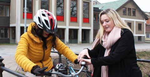 Cykelprojekt för nyanlända kvinnor