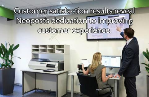Customer satisfaction results reveal Neopost's dedication to improving customer experience