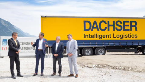 Neuer Standort für DACHSER in Österreich