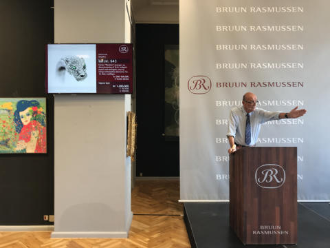 New World Record: DKK 1.2 million for Panthère diamond bangle from Cartier