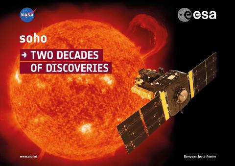 20-årsjubileum för satelliten SOHO