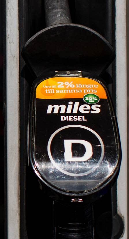 Statoils miles diesel bio som minskar koldioxidutsläppen med 22 %, nu i Kalmar, Blekinge och Kronobergs län.