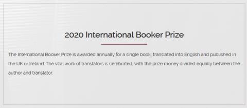 De nominert til den prestisjetunge Booker International Prize er offentliggjort.