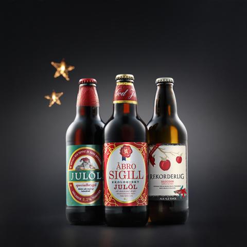 Julöl och julecider – klassiker i juletider.