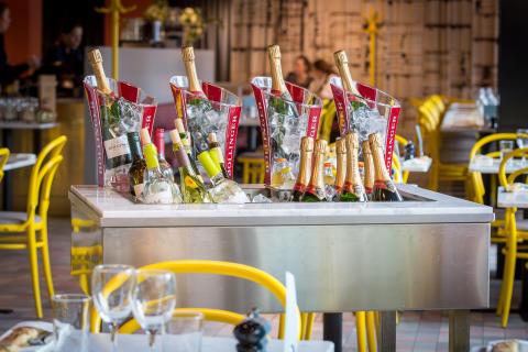 Champagneonsdag varje onsdag både i City och Solna