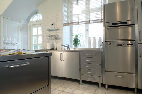Kök i rostfritt stål