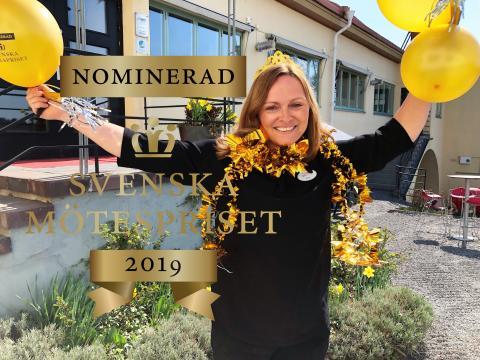 Anna är nominerad till Svenska Mötespriset 2019