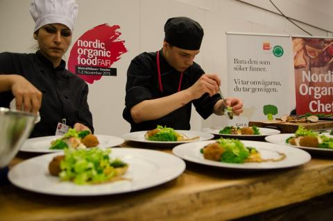 Top chefs prepare for Nordic Organic Chef Competitions