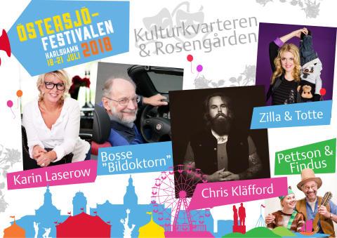 Nya spännande nyheter under Östersjöfestivalen