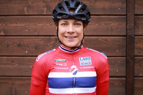 Vita Heine på sykkellandslaget 2017
