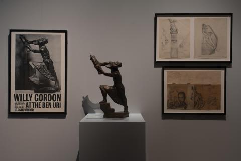Konstnär Willy Gordon – Flykten med Toran