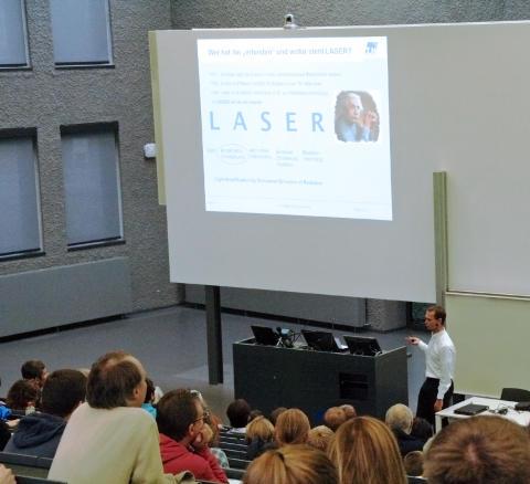 6. Wildauer Wissenschaftswoche an der Technischen Hochschule Wildau startet am 1. März 2017 mit einem Science Slam