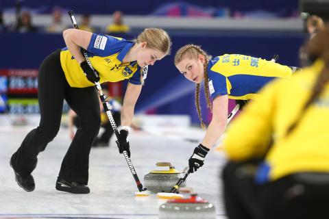 Curling: Sverige och lag Wranå till final i Junior-VM