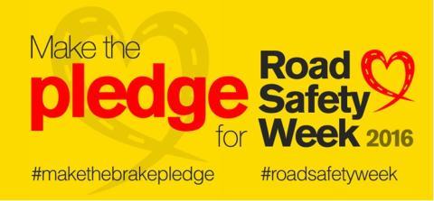 Brake Road Safety Week – 'Make the Pledge'
