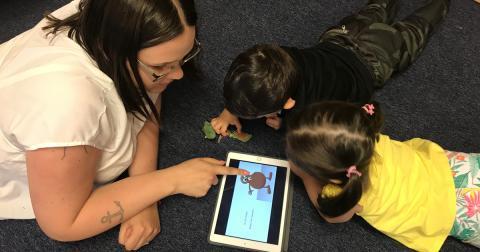 Alla förskolebarn – oavsett språk – kan vara med i lässtunden