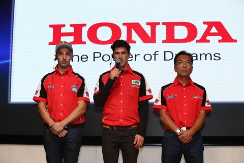 Hondas HRC fabriksteamet