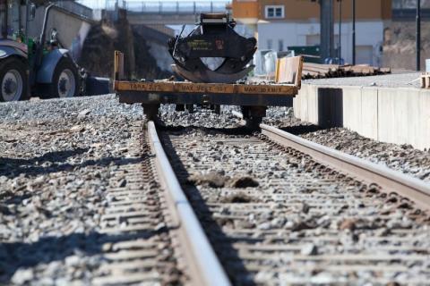 Veidekke bygger dubbelspår längs Ostkustbanan