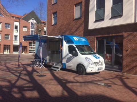 Beratungsmobil der Unabhängigen Patientenberatung kommt am 5. Juli nach Nienburg.