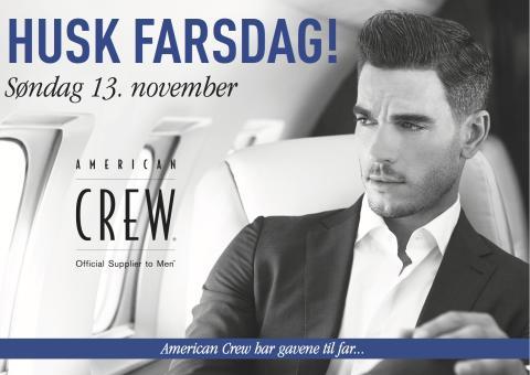 American Crew_farsdag