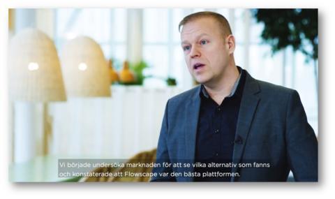 Flowtalk: Varför valde Ericsson och Vasakronan Flowscape?