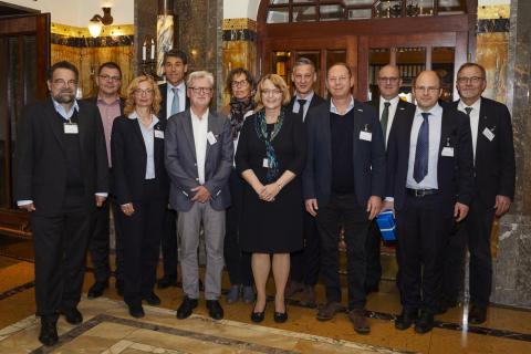 Referenten des 43. Wissenschaftlichen Beirates in Nürnberg