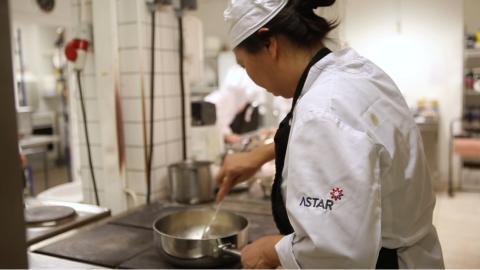 Astars bidrag värmer Västerås hemlösa i vinter