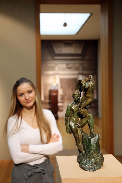 """KLINGER 2020: """"Der Mensch und sein Genius"""" (Auguste Rodin)"""